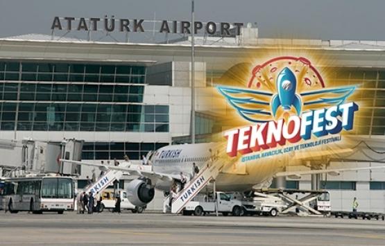 İstanbul Atatürk Havalimanı'nda yapılacak Teknofest için tarih belli oldu!