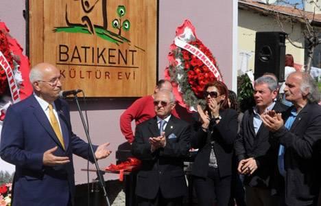 Batıkent Kültür Evi açıldı!
