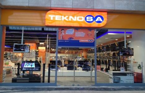 TeknoSA'dan mağaza kapatma