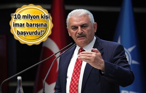 Türkiye'nin mülkiyet sorunu imar barışıyla hallettik!