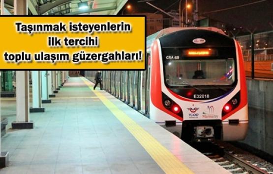 Marmaray'a göre taşındık!