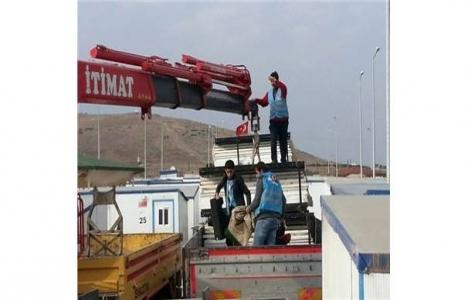 Deniz Feneri Derneği'nden Suriyelilere 108 adet prefabrik ev!