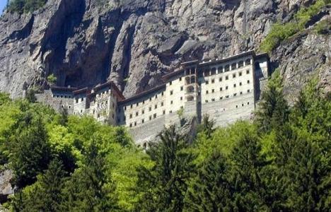 Sümela Manastırı'nın restorasyon