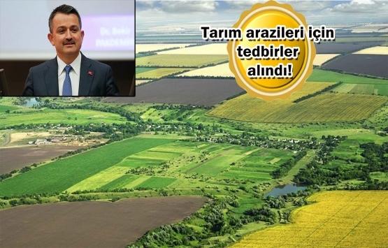 Hazine arazileri çiftçilere ücretsiz tahsis ediliyor!