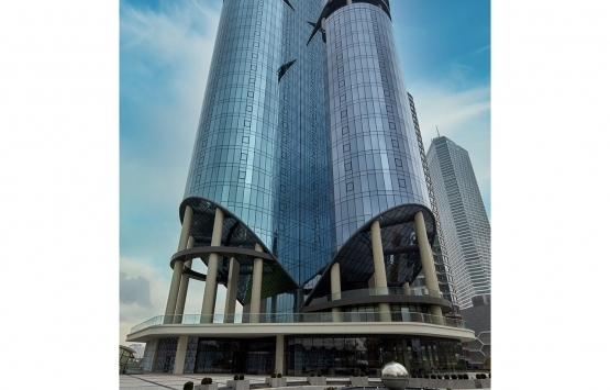 Avrupa Ofis Ataşehir'in ofis kulesine Guardian Glass imzası!