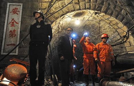 Çin kömür madeninde patlama