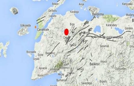Çanakkale'de 4,3 şiddetinde deprem oldu!