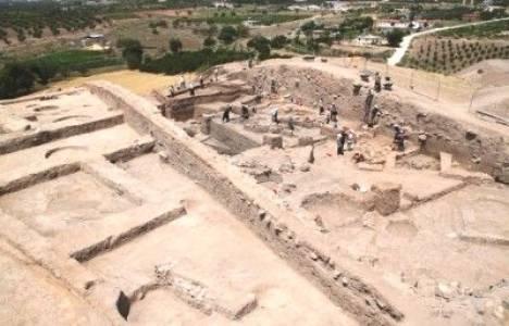 Oylum Höyük'teki kazı çalışmalarında önemli bulgulara ulaşıldı!