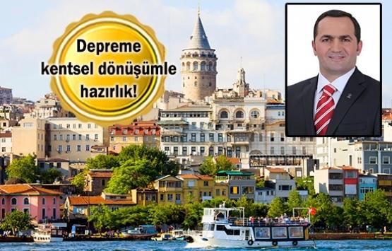 Beyoğlu'nda deprem esaslı dönüşüm başlıyor!
