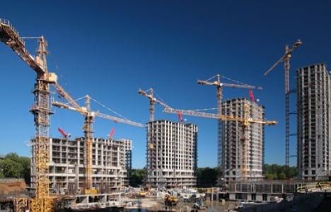 Mersin'de inşaat sektöründen
