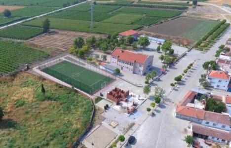 Manisa Saruhanlı'ya sosyal tesis yapılıyor!