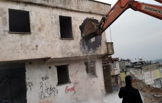 Kahramanmaraş Sarayaltı Caddesi'nde yıkımlar tamamlandı!