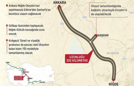 Ankara-Niğde Otoyolu ihalesine