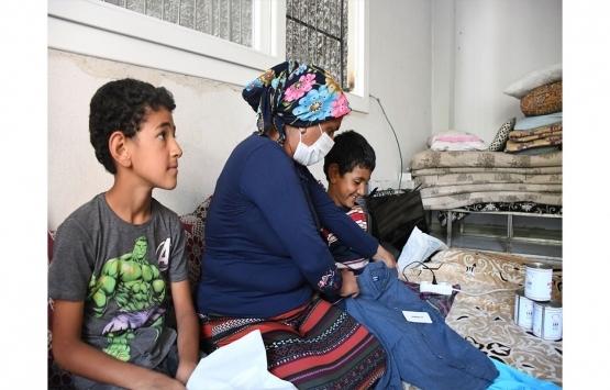 Adana'da kirasını ödeyemeyen aileye yardım eli uzatıldı!