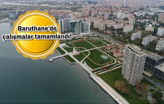 Ataköy Millet Bahçesi'nin açılış öncesi son hali görüntülendi!