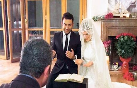 Kerem Göğüş ve oyuncu Wilma Elles evlendi!