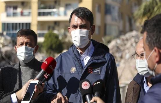 Murat Kurum: İzmir'deki deprem sonrası 50 binada tahliye çalışmalarını tamamladık!
