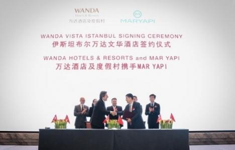 Mar Yapı ve Wanda Grup'tan Wanda Vista İstanbul Otel projesi!