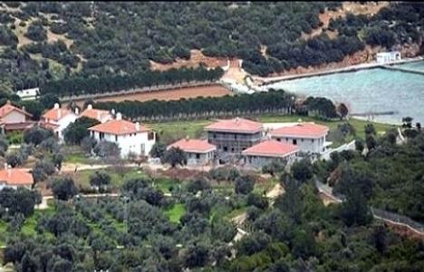 Urla Villaları'na eski eser kararı!