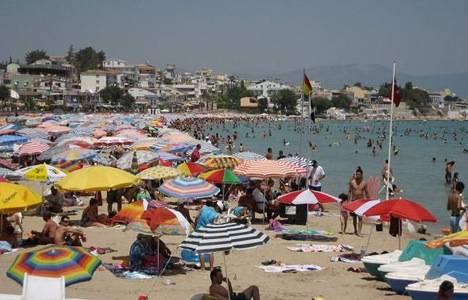 Turist sayısında artış