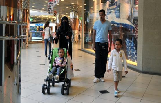 Ortadoğulu turistler perakendeye