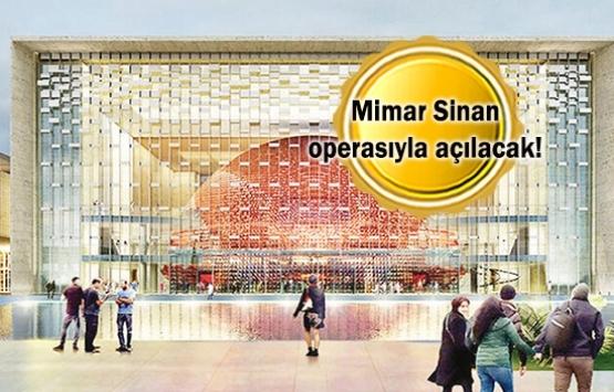 AKM'nin açılışı için yeni taslak!
