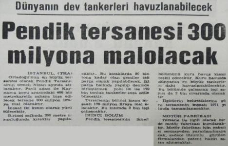 1969 yılında Pendik