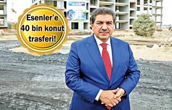 Esenler'de çok boyutlu kentsel dönüşüm planı!