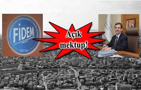 Fikirtepe'den İdris Güllüce'ye açık mektup!