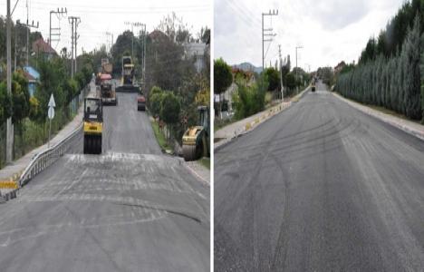 Kocaeli Başiskele Mehmet Çavuş Caddesi asfaltlandı!