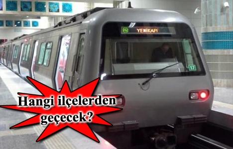 Yenikapı-Sefaköy Metro Hattı güzergahı belli oldu! İşte istasyonlar!