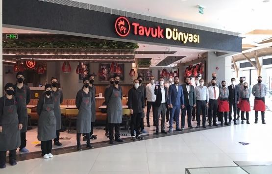 Tavuk Dünyası Antakya Palladium AVM'de yeni restoran açtı!