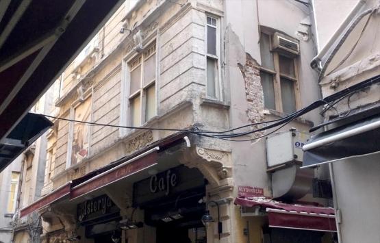 Beyoğlu'nda yıkılma