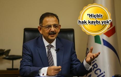 Mehmet Özhaseki'den yeni imar planı açıklaması!