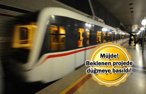 Mahmutbey-Esenyurt Metro Hattı'nda inşaat başladı!