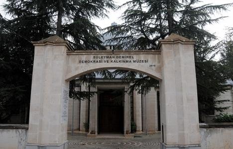 Isparta Süleyman Demirel Müzesi açıldı!