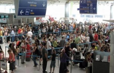 İstanbul'a gelen yabancı sayısı yüzde 11 arttı!