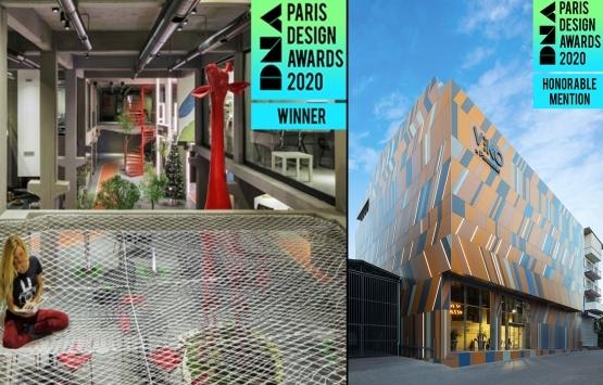 XL Mimarlık+Mühendislik'e The DNA Paris Design Awards 2020'den iki ödül!