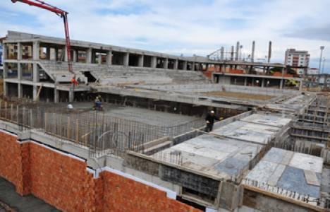 Gebze Olimpik Yüzme Havuzu'nun inşaatı devam ediyor!