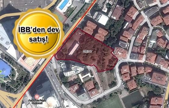 İBB, Beşiktaş'taki arazisini