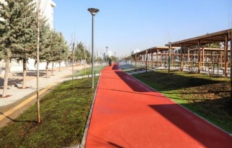Gaziantep Şehitkamil'e yeni park!