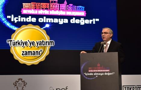 Mehmet Ergün Turan: Türkiye yatırım cazibesini koruyor!