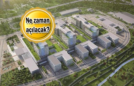İkitelli Şehir Hastanesi'nin