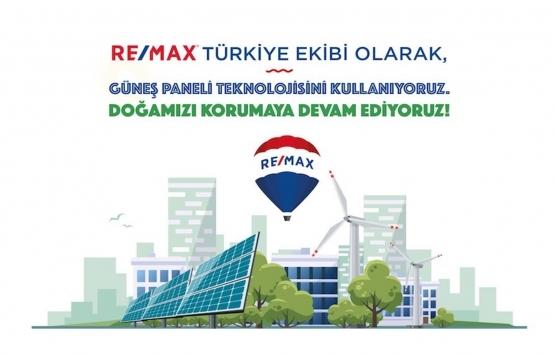 RE/MAX Türkiye ofisi kendi enerjisini üretecek!