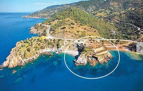 Antalya'da 5 milyon 250 bin euroya yarımada satılıyor!