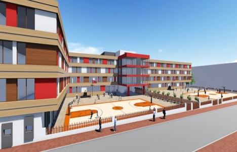 Manisa Ali Rıza Çevik İlkokulu Otopark Projesi'ne onay çıkmadı!