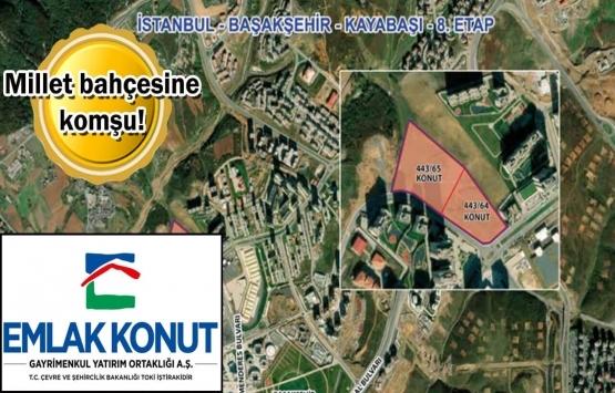 Emlak Konut GYO Başakşehir Kayabaşı 8. Etap 2. oturum ihalesi 14 Ekim'de!