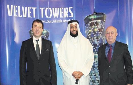 Şeyh Abdulaziz Al Thani'nin ilk yatırımı Velvet Towers!
