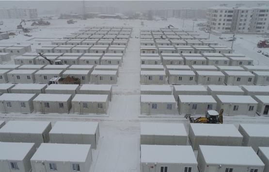 Elazığ'da 5 bin aile için konteyner kent kuruluyor!