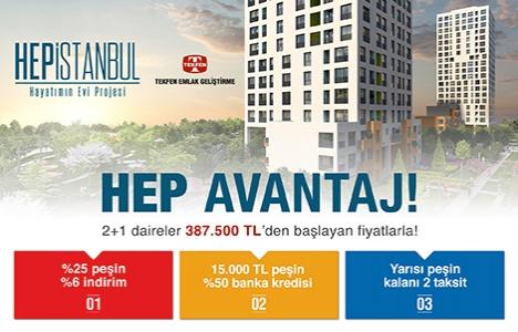 Hep İstanbul'da yaşam Nisan 2017'de başlayacak!